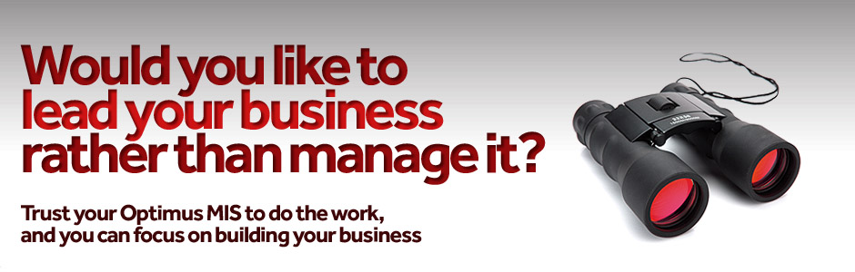 Would you like to lead your business rather than manage it?