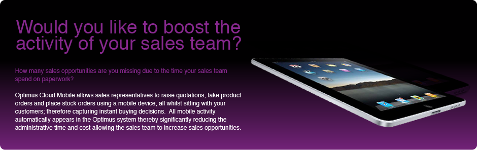 Would you like to boost the activity of your sales team?