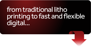 From large traditional litho to fast and flexible digital, we've got it covered